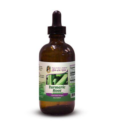 Turmeric Root (Curcuma Longa) 4oz/118ml Herbal Extract / Tincture - Maria Treben's Authentic™ Herbs of the World