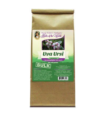Uva Ursi Leaf (Arctostaphylos Uva Ursi) 1lb/454g BULK Herbal Tea - Maria Treben's Authentic™ Herbs of the World