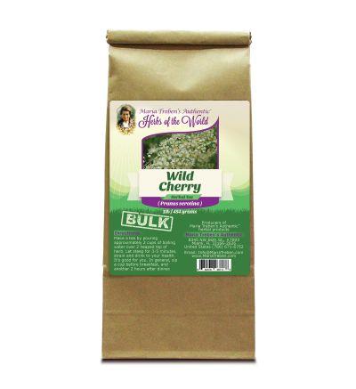 Wild Cherry Bark (Prunus Serotina) 1lb/454g BULK Herbal Tea - Maria Treben's Authentic™ Herbs of the World