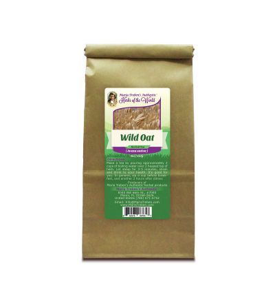 Wild Oat Seed (Avena sativa) 4oz/113g Herbal Tea - Maria Treben's Authentic™ Herbs of the World