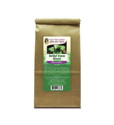 Wild Yam Root (Dioscorea Villosa) 4oz/113g Herbal Tea - Maria Treben's Authentic™ Herbs of the World
