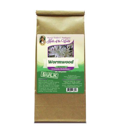 Wormwood Leaf (Artemisia Absinthium) 4oz/113g Herbal Tea - Maria Treben's Authentic™ Herbs of the World