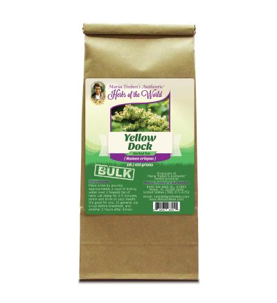 Yellow Dock (Rumex crispus) 1lb/454g BULK Herbal Tea - Maria Treben's Authentic™ Herbs of the World