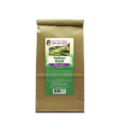 Yellow Dock (Rumex crispus) 4oz/113g Herbal Tea - Maria Treben's Authentic™ Herbs of the World