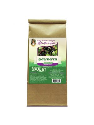 Elderberry (Sambucus nigra) 1lb/454g BULK Herbal Tea - Maria Treben's Authentic™ Herbs of the World