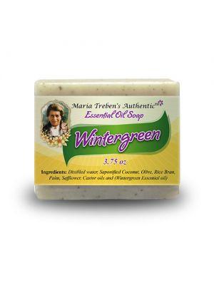 Wintergreen 3.75oz Bar Essential Oil Soap - Maria Treben's Authentic™