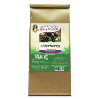 Elderberry (Sambucus nigra) 1lb/454g BULK Herbal Tea - Maria Treben's Authentic™ Herbs of the World