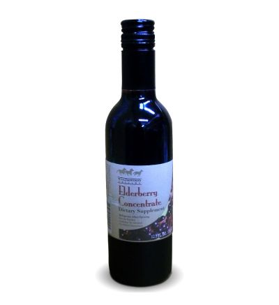 Elderberry Juice Concentrate (12.5oz/375ml)