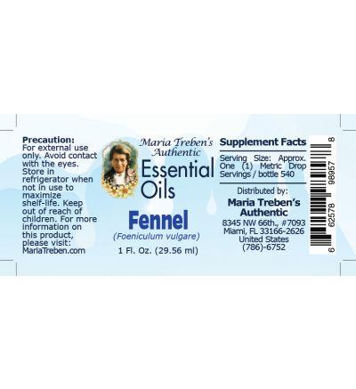 Fennel (Foeniculum vulgare) - 30 ml.