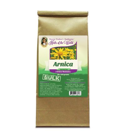 Arnica Flower (Arnica Montana) 1 lb/454 g BULK Herbal Tea - Maria Treben's Authentic™ Herbs of the World