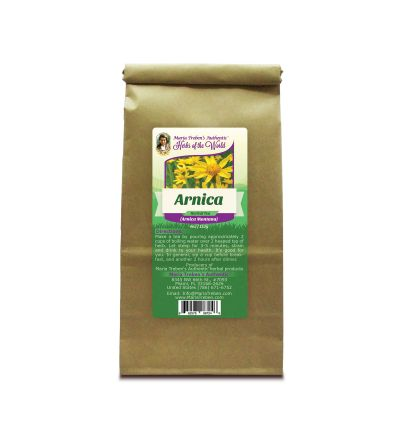 Arnica Flower (Arnica Montana) 4oz/113g Herbal Tea - Maria Treben's Authentic™ Herbs of the World