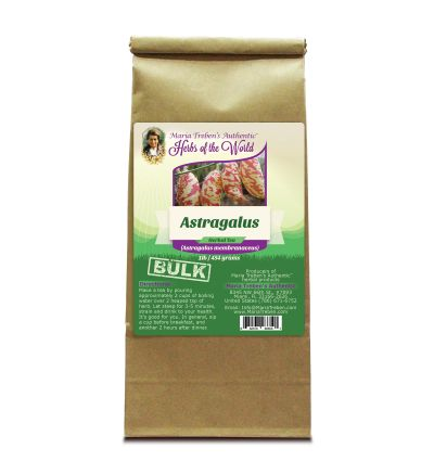 Astragalus Root (Astragalus membranaceus) 1lb/454g BULK Herbal Tea - Maria Treben's Authentic™ Herbs of the World