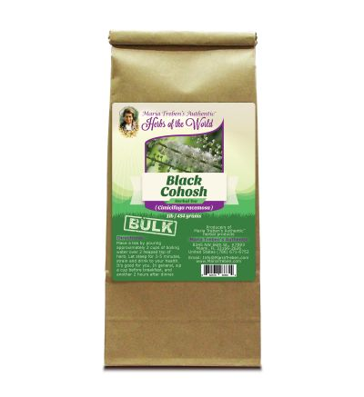 Black Cohosh Root (Cimicifuga racemosa) 1lb/454g BULK Herbal Tea - Maria Treben's Authentic™ Herbs of the World