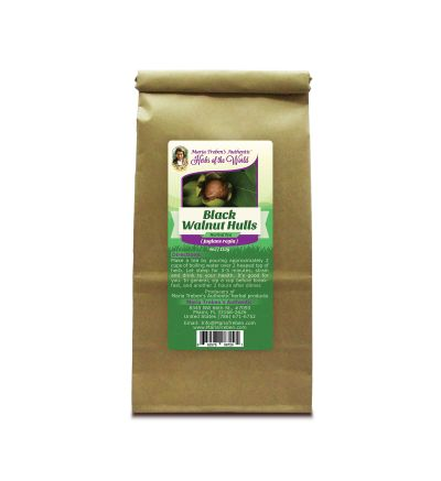 Black Walnut Hulls - Green stage (Juglans nigra) 4oz/113g Herbal Tea - Maria Treben's Authentic™ Herbs of the World