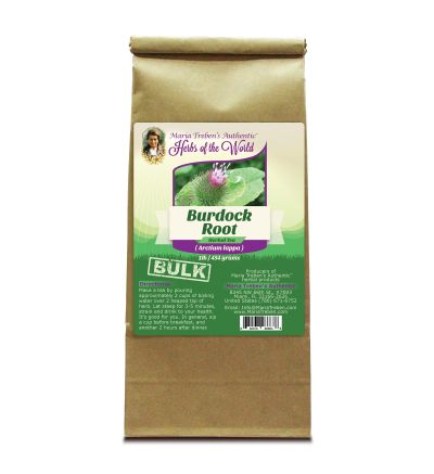 Burdock Root (Cimicifuga racemosa) 1lb/454g BULK Herbal Tea - Maria Treben's Authentic™ Herbs of the World