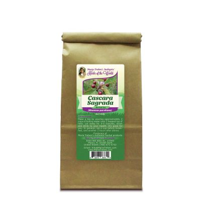 Cascara Sagrada Bark (Rhamnus purshiana) 4oz/113g Herbal Tea - Maria Treben's Authentic™ Herbs of the World