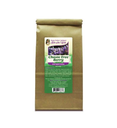 Chaste Tree Berry (Vitex agnus castus) 4oz/113g Herbal Tea - Maria Treben's Authentic™ Herbs of the World