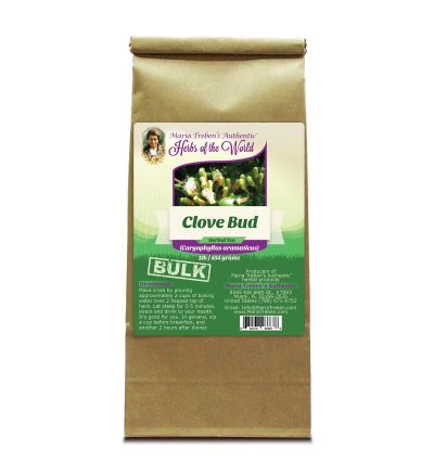 Clove Bud (Eugenia caryophyllata) 1lb/454g BULK Herbal Tea - Maria Treben's Authentic™ Herbs of the World