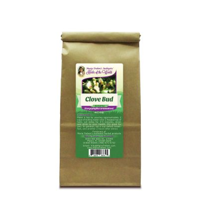 Clove Bud (Eugenia caryophyllata) 4oz/113g Herbal Tea - Maria Treben's Authentic™ Herbs of the World