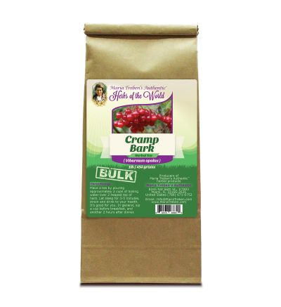 Cramp Bark (Viburnum opulus) 1lb/454g BULK Herbal Tea - Maria Treben's Authentic™ Herbs of the World