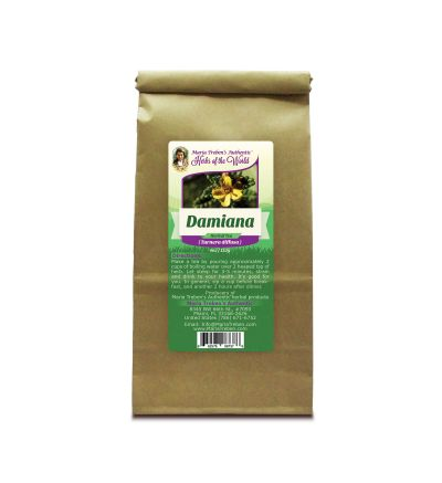 Damiana Herb (Turnera diffusa) 4oz/113g Herbal Tea - Maria Treben's Authentic™ Herbs of the World