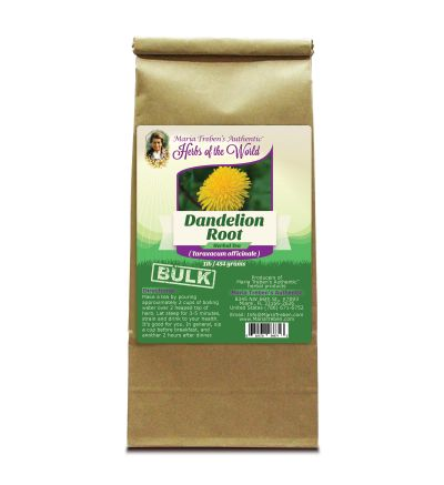 Dandelion Root (Taraxacum officinale) 1lb/454g BULK Herbal Tea - Maria Treben's Authentic™ Herbs of the World