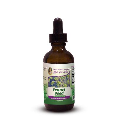 Fennel Seed (Foeniculum vulgare) 2oz/59ml Herbal Extract / Tincture - Maria Treben's Authentic™ Herbs of the World