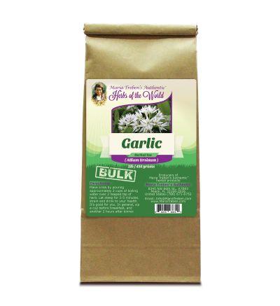 Garlic Bulb (Allium sativum) 1lb/454g BULK Herbal Tea - Maria Treben's Authentic™ Herbs of the World