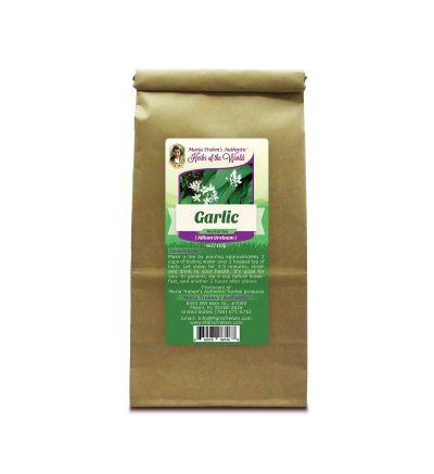 Garlic Bulb (Allium sativum) 4oz/113g Herbal Tea - Maria Treben's Authentic™ Herbs of the World