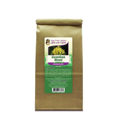 Gentian Root (Gentiana Lutea) 4oz/113g Herbal Tea - Maria Treben's Authentic™ Herbs of the World