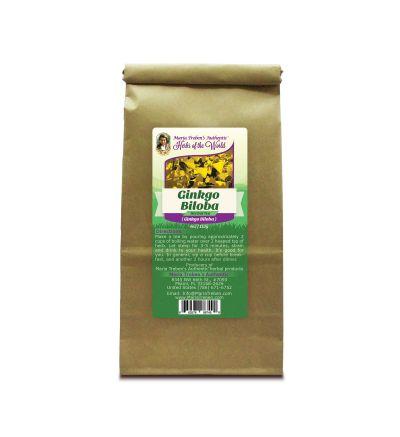 Ginkgo Leaf (Ginkgo Biloba) 4oz/113g Herbal Tea - Maria Treben's Authentic™ Herbs of the World