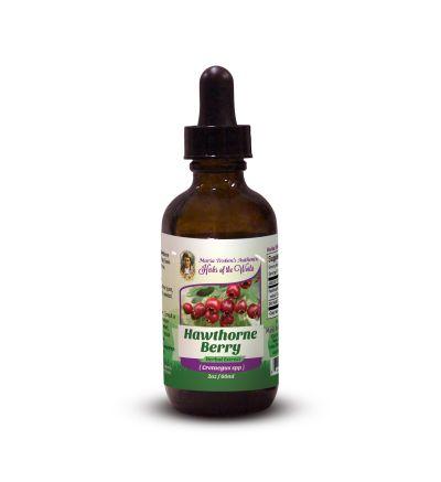 Hawthorne Berry (Cretaegus Oxycanthus) 2oz/59ml Herbal Extract / Tincture - Maria Treben's Authentic™ Herbs of the World