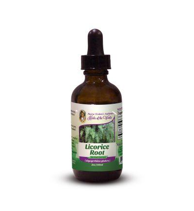Licorice Root (Glycyrrhiza glabra) 2oz/59ml Herbal Extract / Tincture - Maria Treben's Authentic™ Herbs of the World