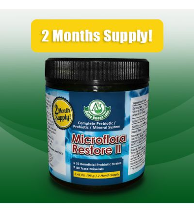 Microflora Restore II (probiotic) - 2 Month Supply!