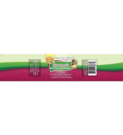 Chamomile (Matricaria chamomilla) 3.75oz Bar Handcrafted Herbal Soap - Maria Treben's Authentic™ Featured Herb