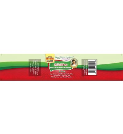 Mistletoe (Viscum album) 3.75oz Bar Handcrafted Herbal Soap - Maria Treben's Authentic™ Featured Herb