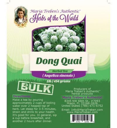 Dong Quai Root (Angelica sinensis) 1lb/454g BULK Herbal Tea - Maria Treben's Authentic™ Herbs of the World