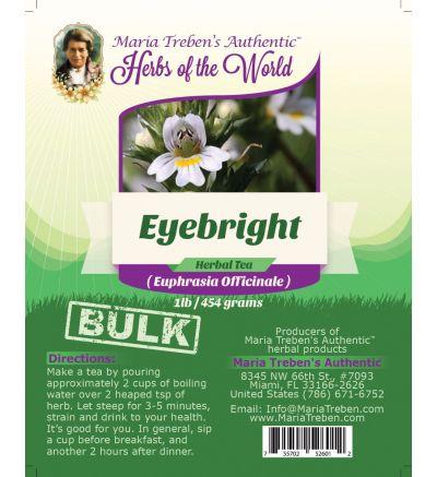 Eyebright Leaf (Euphrasia fficinalis) 1lb/454g BULK Herbal Tea - Maria Treben's Authentic™ Herbs of the World