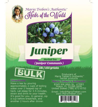 Juniper (Juniperus Communis) 1lb/454g BULK Herbal Tea - Maria Treben's Authentic™ Herbs of the World