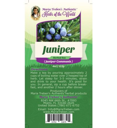 Juniper (Juniperus Communis) 4oz/113g Herbal Tea - Maria Treben's Authentic™ Herbs of the World