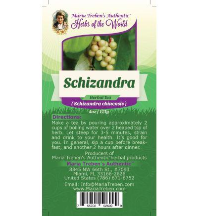 Schizandra Berry (Schizandra Chinensis) 4oz/113g Herbal Tea - Maria Treben's Authentic™ Herbs of the World