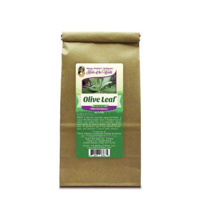 Olive Leaf (Olea Europaea) 4oz/113g Herbal Tea - Maria Treben's Authentic™ Herbs of the World