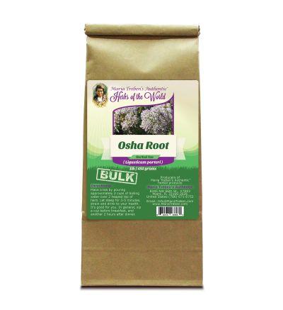 Osha Root (Ligusticum porteri) 1lb/454g BULK Herbal Tea - Maria Treben's Authentic™ Herbs of the World