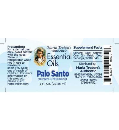 Palo Santo (Bursera graveolens) - 30 ml.