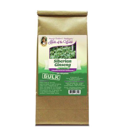Ginseng, Siberian (Eleutherococcus senticosus) 1lb/454g BULK Herbal Tea - Maria Treben's Authentic™ Herbs of the World
