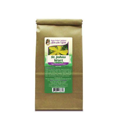 St. John's Wort Flowering Tops (Hypericum Perforatum) 4oz/113g Herbal Tea - Maria Treben's Authentic™ Herbs of the World