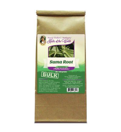 Suma Root (Pfaffia Paniculata) 1lb/454g BULK Herbal Tea - Maria Treben's Authentic™ Herbs of the World