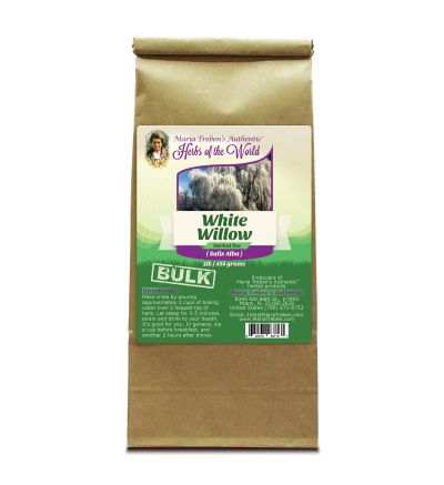 White Willow Bark (Salix Alba) 1lb/454g BULK Herbal Tea - Maria Treben's Authentic™ Herbs of the World