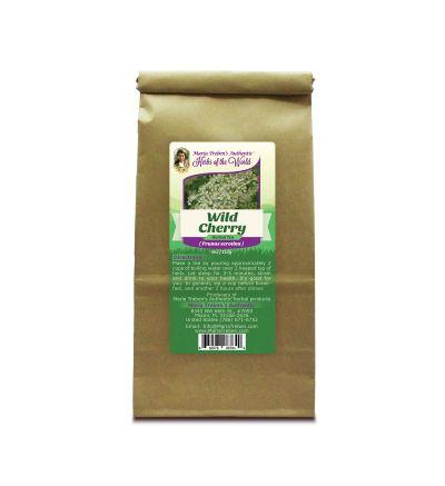 Wild Cherry Bark (Prunus Serotina) 4oz/113g Herbal Tea - Maria Treben's Authentic™ Herbs of the World