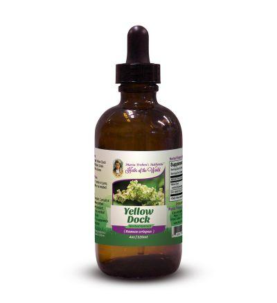Yellow Dock (Rumex crispus) 4oz/118ml Herbal Extract / Tincture - Maria Treben's Authentic™ Herbs of the World